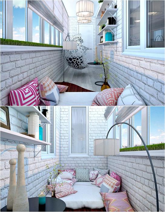 Балкон - зона за отдих