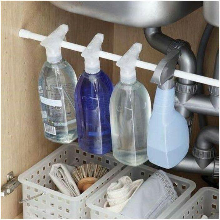 Как хранить моющие и чистящие средства