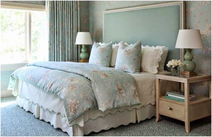 Harmonisk fargevalg på soverommet