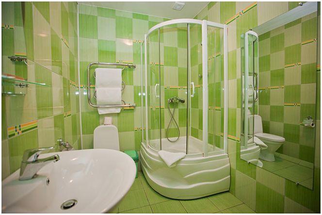 оформление маленькой ванной