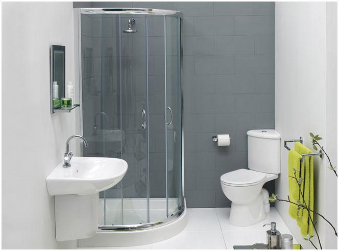 решения для маленькой ванной