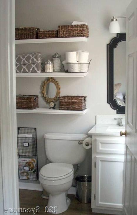4 совета по выбору мебели для маленького санузла