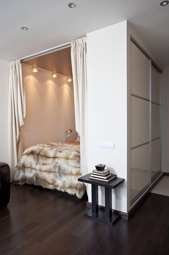 Jak skutecznie połączyć sypialnię z salonem w mieszkaniu (zdjęcie wnętrz)
