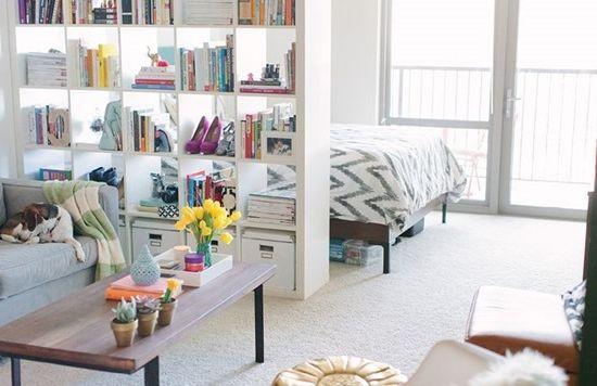 Идеи для оформления интерьера молодежной квартиры-студии