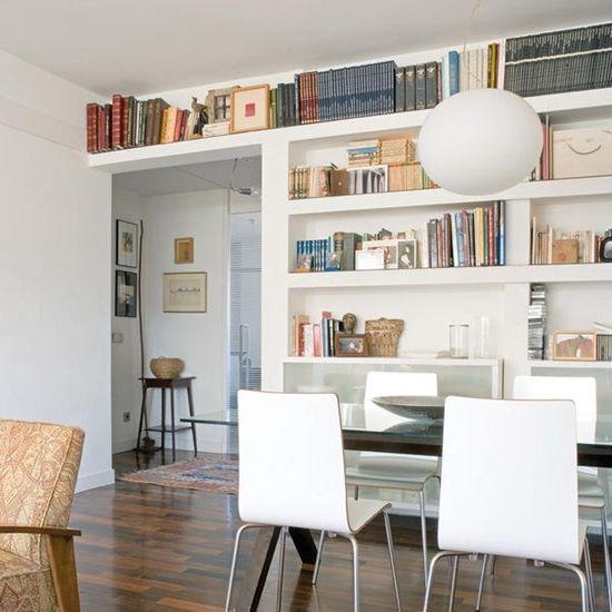 Полезное пространство под потолком: используем стены для хранения