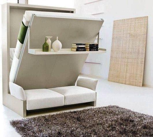 Избор на разтегателен диван в малък апартамент