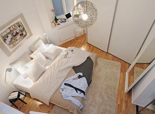 Projektowanie sypialni w małych mieszkaniach, wnętrza sypialni ciasnych. Mała sypialnia (zdjęcie wnętrz)