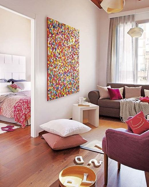 Kolory do małego mieszkania