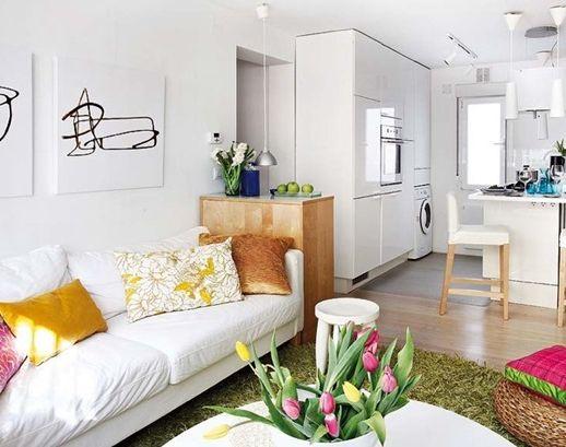 Как да разширим пространството: идеи за малък апартамент. Успешни дизайнерски идеи за малък апартамент