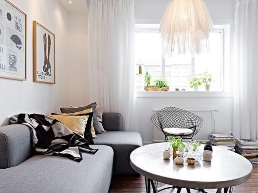 Как да обзаведем малък апартамент стилно и евтино. Евтин интериорен дизайн (снимка)