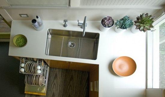Идеи за интериорен дизайн на малка кухня