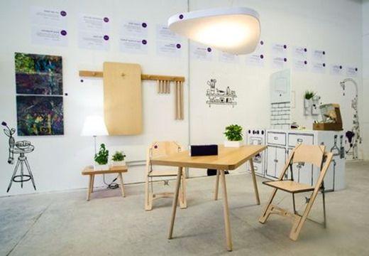 Сгъваеми маси и други сгъваеми мебели като решение за малък апартамент