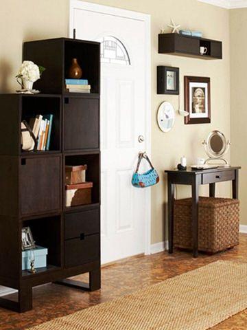 Pomysły na mały korytarz: pięć pomysłów na organizację przechowywania na korytarzu