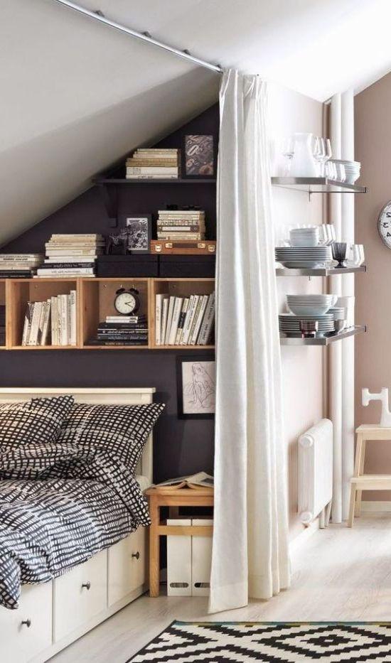 спальня-гостиная 5. кровать в нише