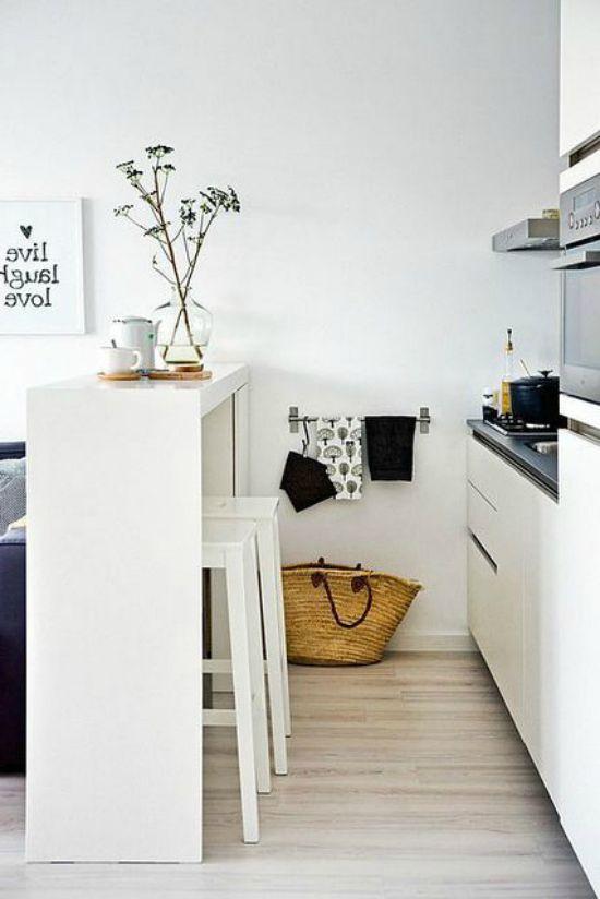 kjøkken. cantilever bar