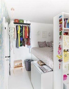 как обустроить очень маленькую комнату