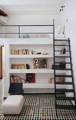 Дизайн интерьера квартиры в двух уровнях, двухуровневая комната