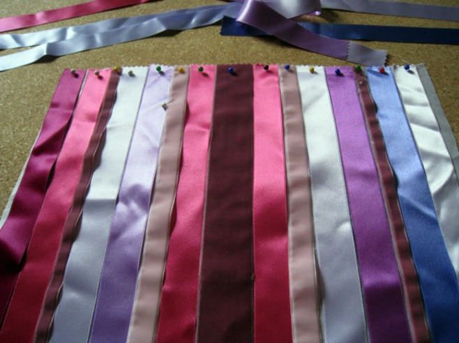 възглавници с панделка