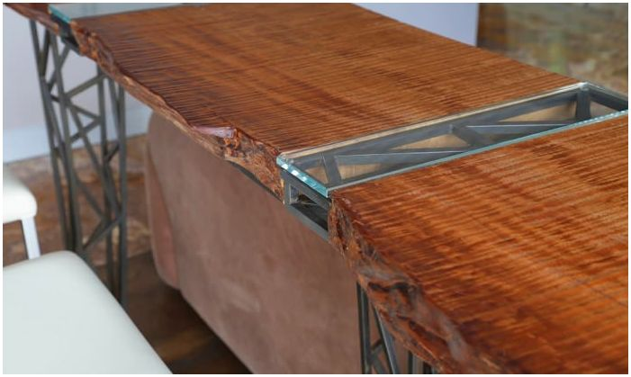 бар брояч, изработен от дърво