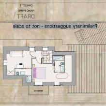 Интериор на къща в стил Шале в Торино-4