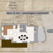 Интериор на къща в стил Шале в Торино-6