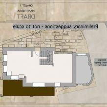 Интериор на къща в стил Шале в Торино-7