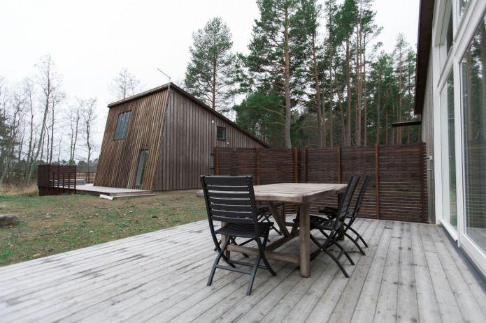къща в борова гора