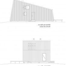 Интериорът на малка частна къща в борова гора-8