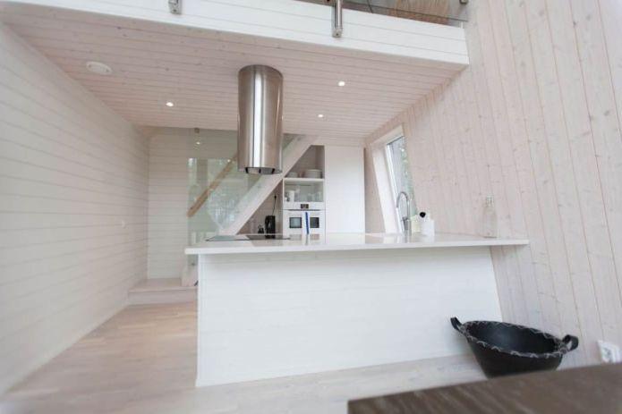 кухня в интериора на малка частна къща