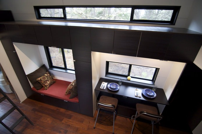 Интериор на мобилен дом
