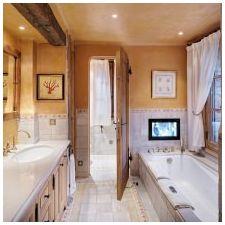 Интерьер ванной в стиле прованс: особенности, фото-2