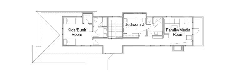 plan domku wiejskiego