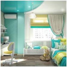 Wnętrza w kolorze turkusowym: cechy, zdjęcie-14