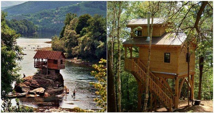 Des cottages en bois incroyables qui sauront inspirer.