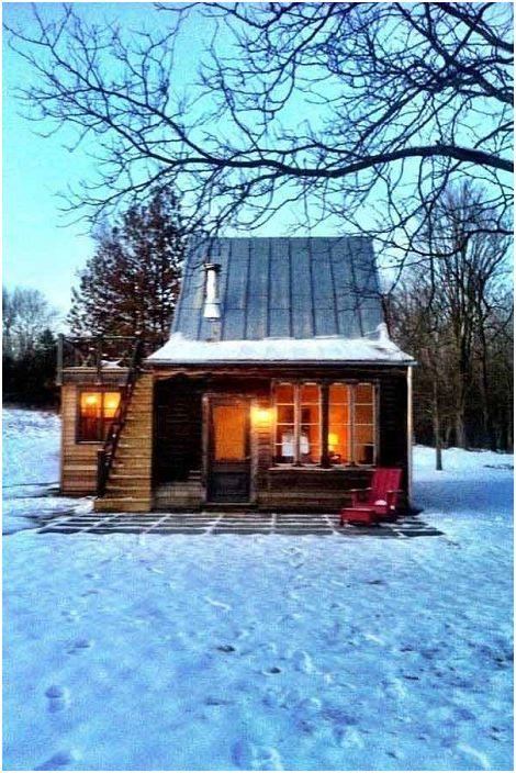 Ambiance hivernale et confort dans une belle maison en bordure de forêt.