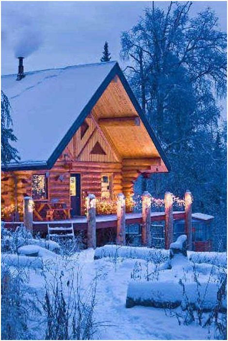Une belle maison en bois est l'endroit où vous pouvez vraiment passer un bon moment et vous détendre.