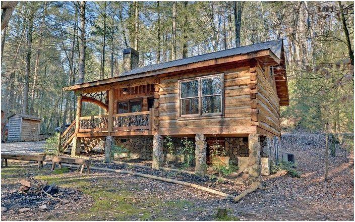 Une excellente maison en bois qui ne laissera presque personne indifférent.
