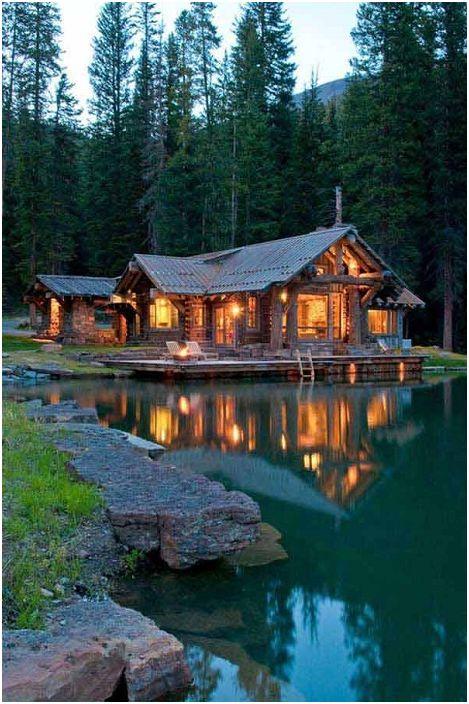 Le magnifique paysage autour du lodge est idéal pour une escapade d'un week-end.