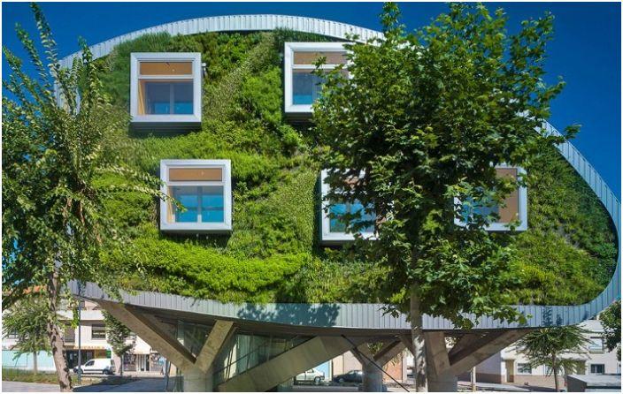 CSI-IDEA Building - дом с энергосберегающими технологиями.