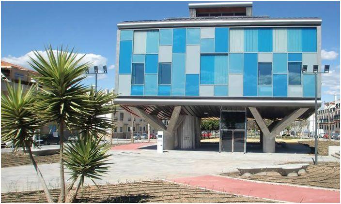Budynek CSI-IDEA jest budynkiem przyjaznym dla środowiska.