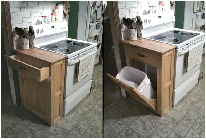 Шкаф за боклук