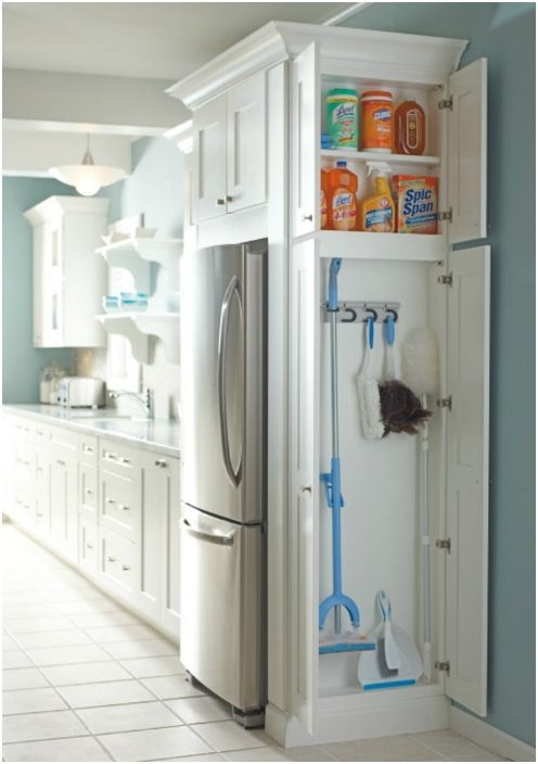 Шкаф за домакински съдове.