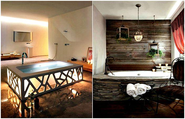 Модерни идеи за дизайн на баня.