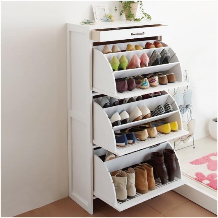 Шкаф за съхранение на обувки