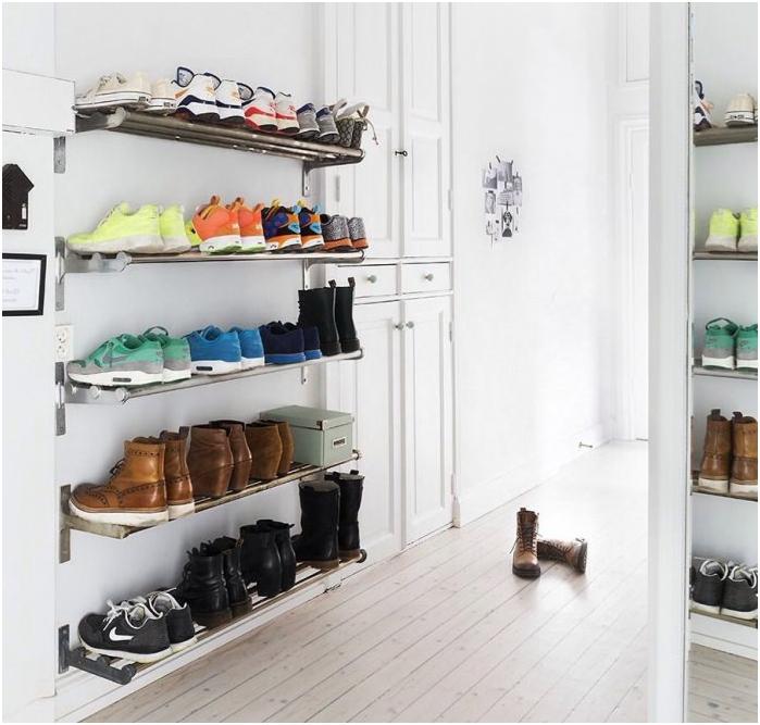 Рафтове за съхранение на обувки