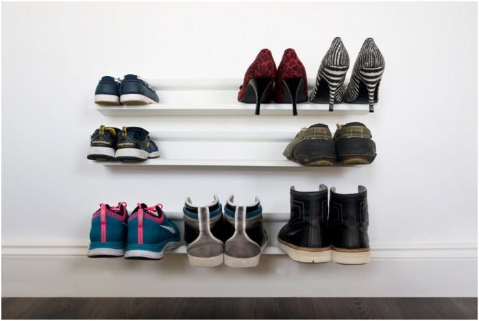 Półki do przechowywania butów
