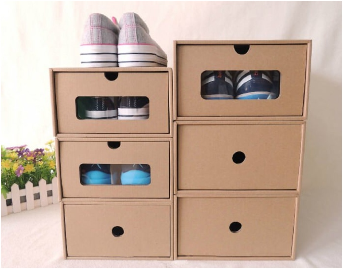 Pudełka do przechowywania butów