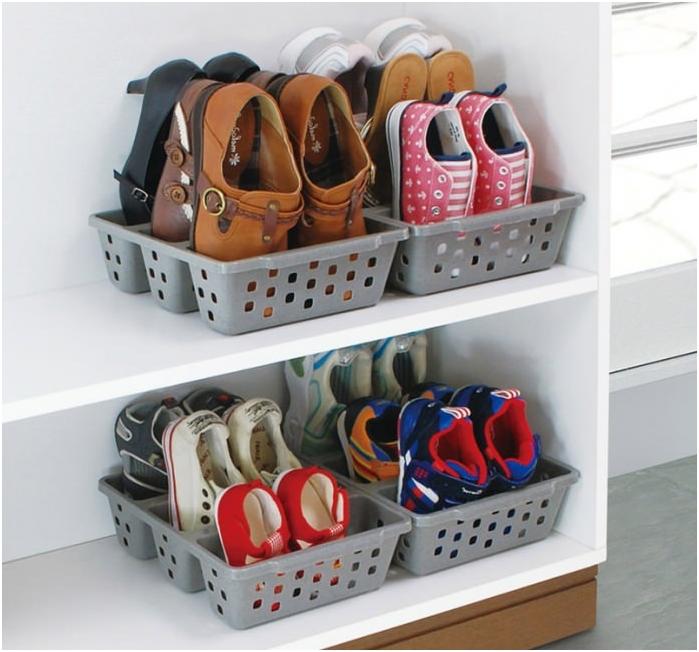 kosze do przechowywania butów