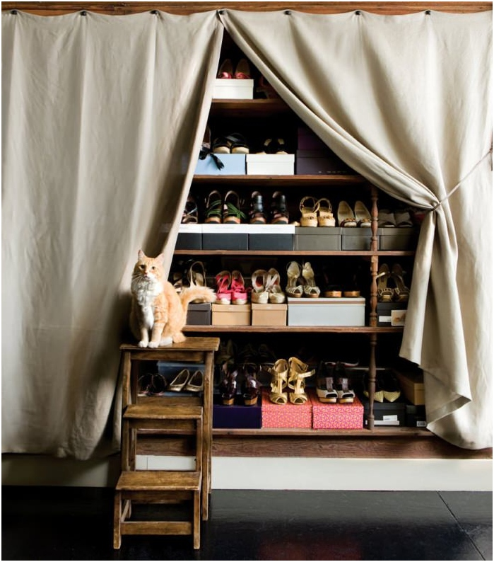 spiżarnia do przechowywania butów