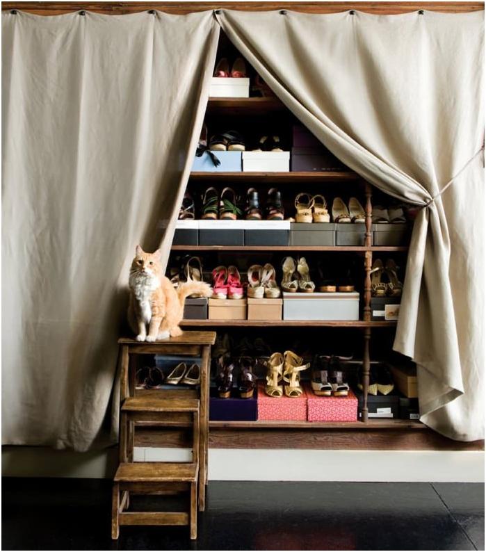 килер за съхранение на обувки